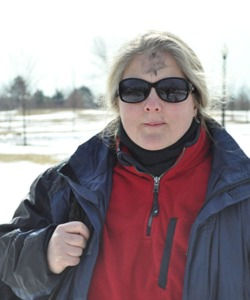 Kathy O'Leary, coordinator for Pax Christi New Jersey