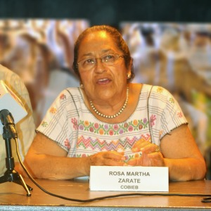 "Rosa Martha Zarate: ""We want the United Nations, the American public and the world to know the injustices done to ex-Braceros.""  Photo by NOEL T. PANGILINAN"